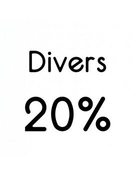 PRODUIT DIVERS TVA 20%