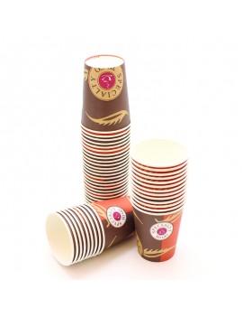 50 GOBELETS CAFÉ 10CL