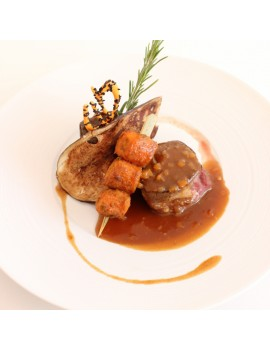 TOURNEDOS DE FILET DE VEAU...