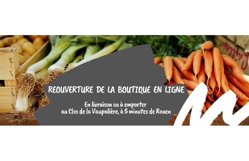 Réouverture de la boutique en ligne, Lecointe Traiteur